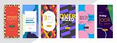 Modern Promotion Rectangular Web Banner For Social Media Mobile Apps. Elegant Sale And Discount Prom poster