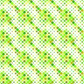 Diagonal Square Pattern Background - Abstract Geometrical Colorful Vector Graphic Design From Rounde poster