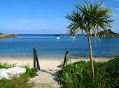 Old Town Beach In St. Mary'S, Isles Of Scilly. poster