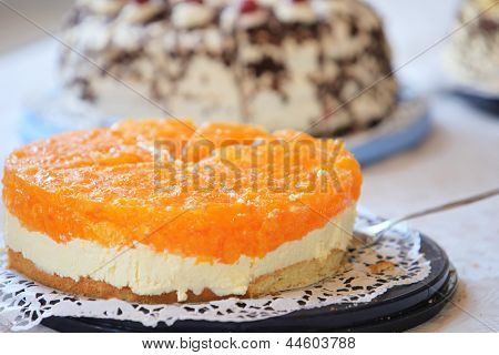 Tangy Colourful Citrus Cheesecake