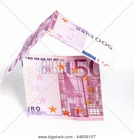 Money House Of 500 Euro Notes