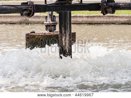 Metal Water Turbine
