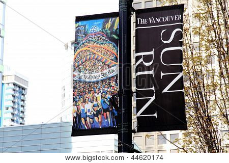 Vancouver Sun Run City Banners