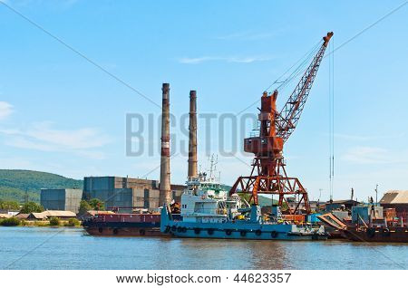 Docks of Nikolaevsk-na-Amure