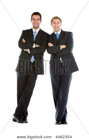 Business Partners Isolated