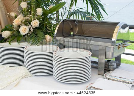 Italian Empty Catering Food Warmer