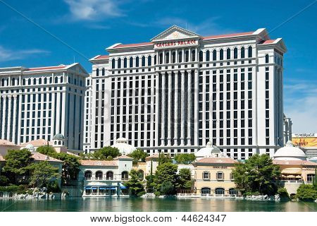 Caesars Palace Hotel On The Las Vegas Strip In Nevada
