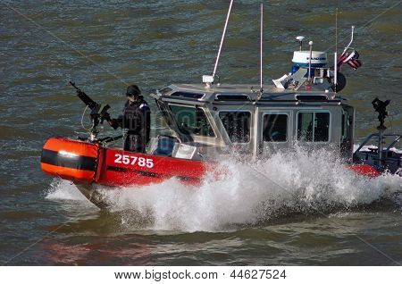 Military Security Boat