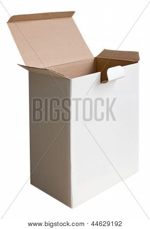 Box White Open