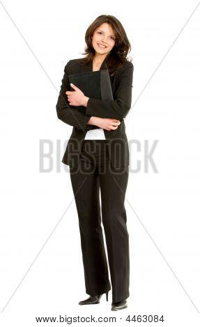 Fullbody Businesswoman