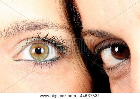 two eye