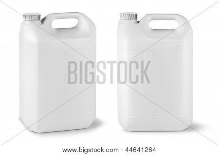 Blank Fluid Canisters