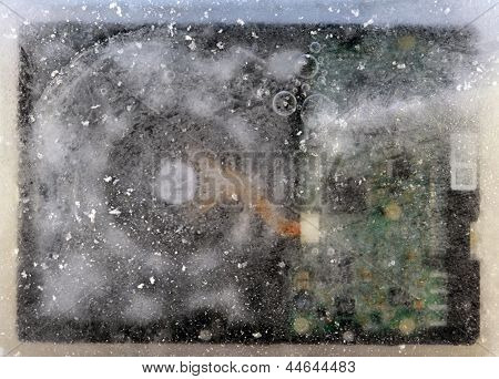 Disco congelados duro