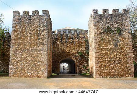 Arched Entraceway In Lagos, Algarve, Portugal