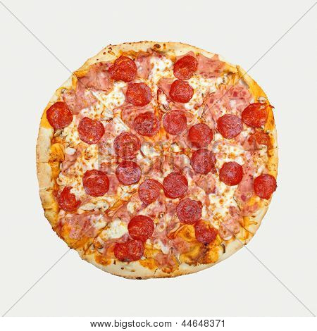 Pepperoni Pizza Cut Out