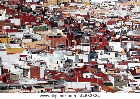 City Of Algeciras, Spain