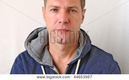 Portrait Of The Sad Man
