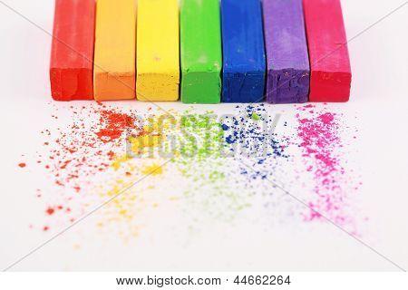 Pastel chalks