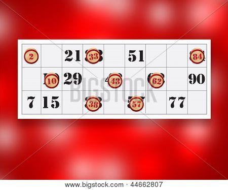 Cartella Con Numeri