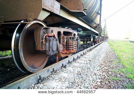 Tank-Schiff-Rad