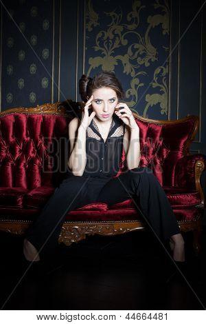 Sexy Posing Woman