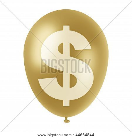 Golden Dollar Ballon