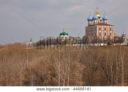 Ancient Orthodox Churches in Ryazan