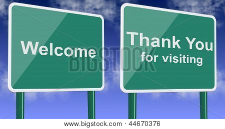 Welcome And Thank You For Visiting