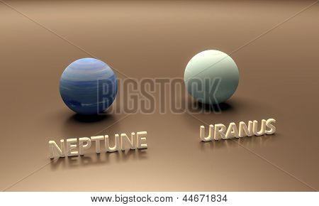 Planets Neptune And Uranus