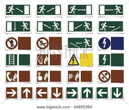 Varning Symbols
