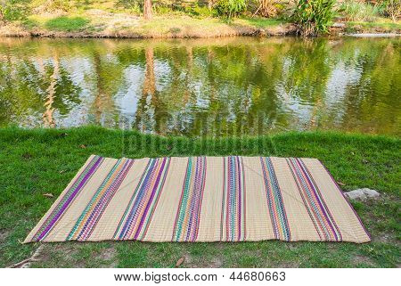 Picnic Background That You Can Put The Thing You Want On The Mat