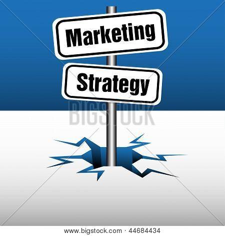 Marketing strategy plate