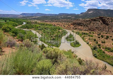A Dirty River Through New Mexico
