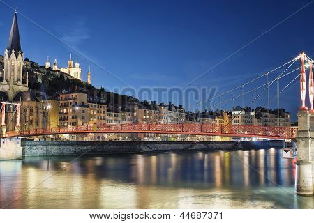Famous View Of River Saone