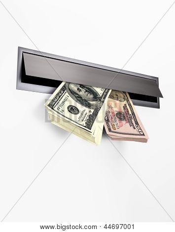 Money in a Letterbox II