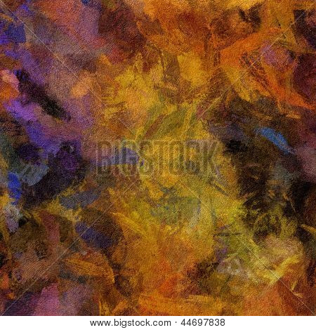 art abstract painted background in violet and brown colors