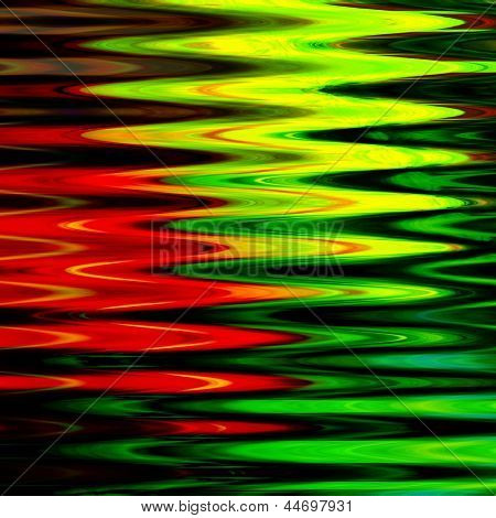 art abstract geometric textured bright green and red background