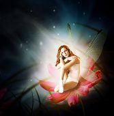 picture of moon-flower  - Fantasy - JPG