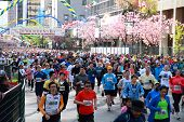Vancouver Sun Run Mass Start
