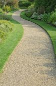 English Garden Gravel Path
