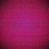 Magenta Seamless Circle Perforated Grill Texture