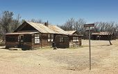 A Fairbank, Arizona, Ghost Town Railroad Ave. Shot