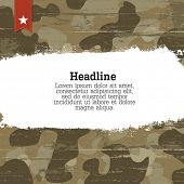 picture of camouflage  - Camouflage background with space for text - JPG