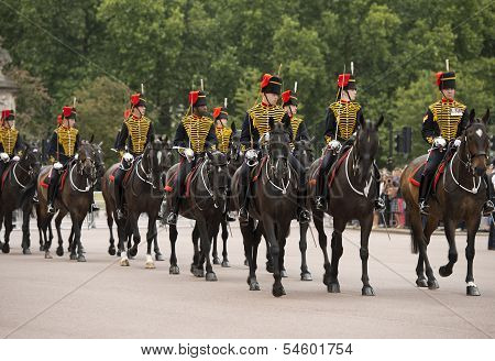 Queen's Life Guards, London,england