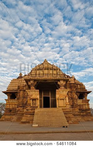 Chitragupta Temple, Western Temples Of Khajuraho. Unesco World Heritage Site.