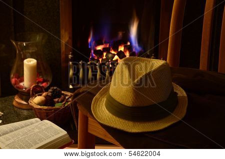 English gentlemans study
