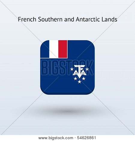 French Southern and Antarctic Lands flag icon