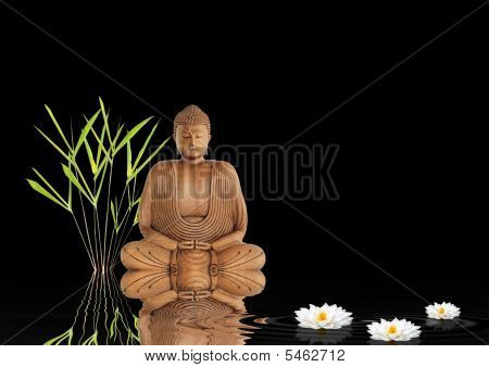 Silencio de Buda Zen