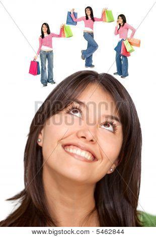 Thoughtful Shopping Women