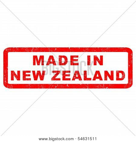 Stamp of Made in New Zeland